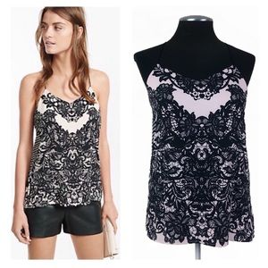 Express - Barcelona Lace Print Camisole